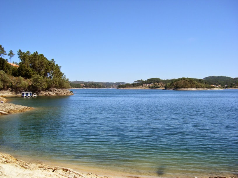 O Lago Azul e outros locais paradisíacos na Barragem de Castelo de Bode