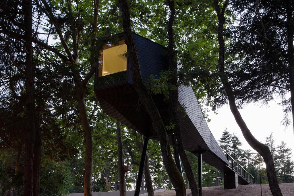 Pedras Salgadas Spa & Nature Park, o paraíso onde pode dormir numa casa de árvore
