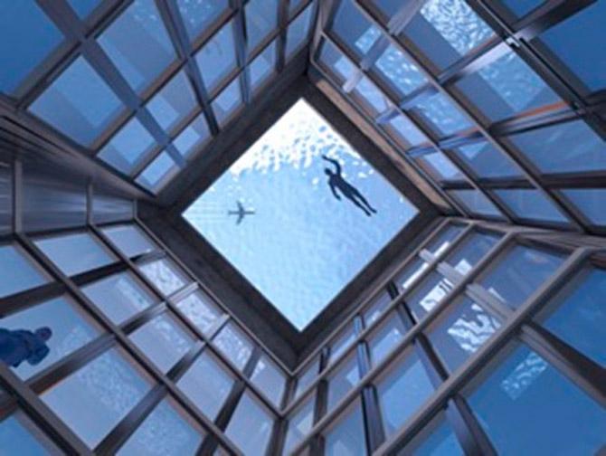 Infinity London: topo de hotel de 5 estrelas vai receber a primeira piscina infinita a 360º