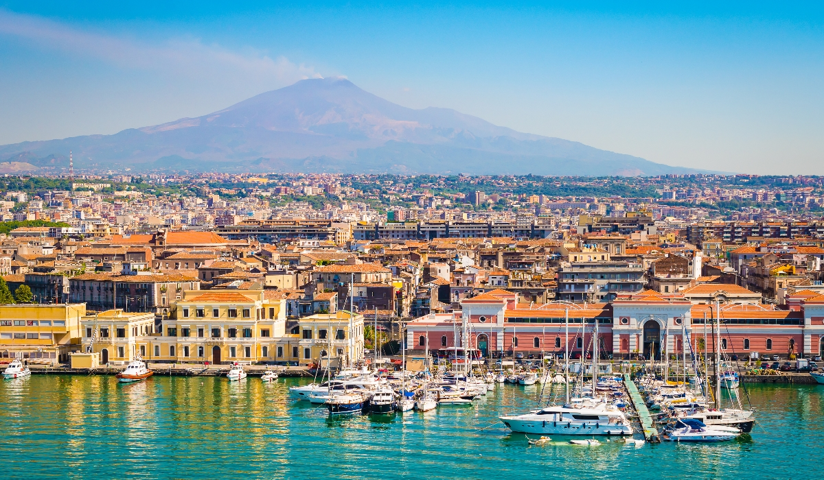 Catânia, a joia da Sicília que tem uma incrível capacidade de se reinventar